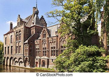 old house in Gent, Belgium