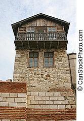 Old house in Nessebar, Bulgaria