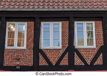 Old house in Ribe - Denmark