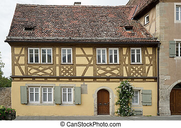 Old house in Rothenburg