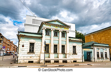 Old house in the city centre of Tver, Russia