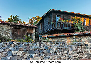 Old House in Town of Sozopol