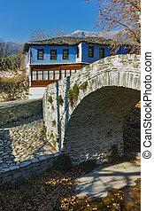 Old house in village of Moushteni