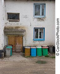 Old house in Yakutia