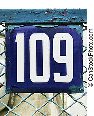 old house number
