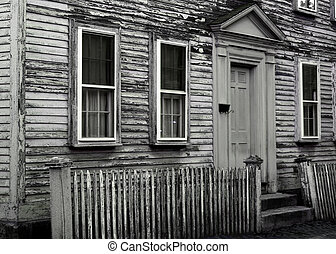 Old House - Old dilapidated New England house