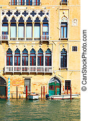 Old house on Grand Canal