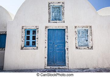 Old house Santorini Greece