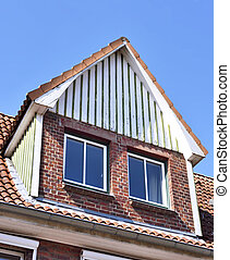 Old house with dormer
