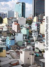 old houses Ho Chi Minh City