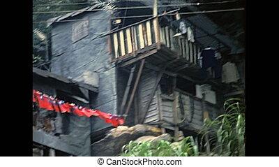 old houses Hong Kong - Old wooden houses of Hong Kong...