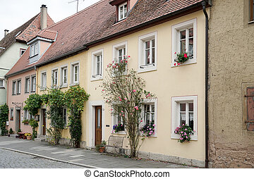 Old houses in Rothenburg