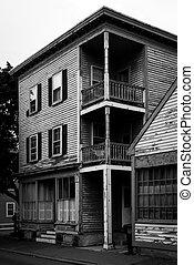 Old houses in Salem, Massachusetts