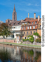 Old houses in Strasbourg