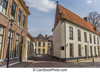 Old houses in the center of Hattem