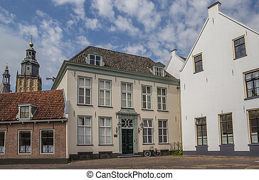 Old houses in the historical center of Zutphen