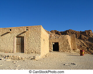 Old houses in Tunisia