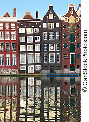 Old houses of Amsterdam