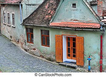 Old houses of Sibiu
