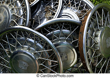 Old Hubcaps