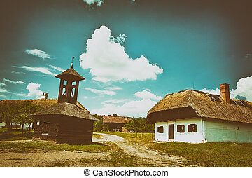 Old hungarian village