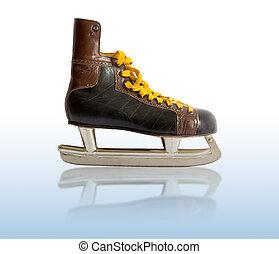 old ice skates