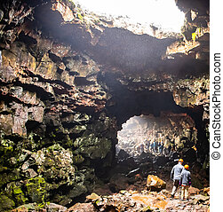 Icelandic Lava Tunnel as tourist attraction - Old Icelandic ...