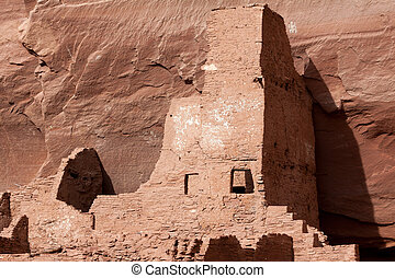 Old Indian dwellings