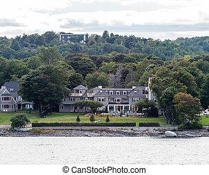 Old Inn on Maine Coast