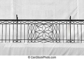 Old iron fence in Timisoara