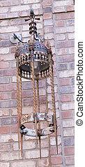 Old Iron Lamp
