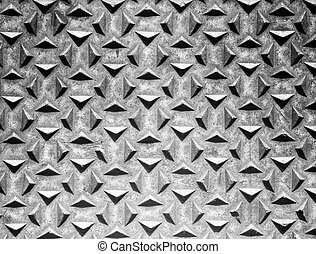Old iron metal abstract wall black