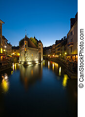 Old Island Prison in Annecy France - The old prison in...