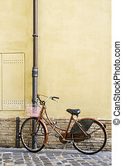 Old Italian bicycle