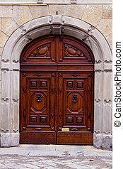 Old Italian door.