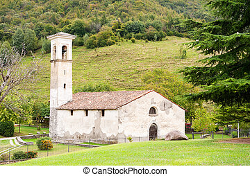 Old Italian little church