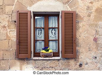old italian window