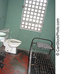 Inside old jail house in Tennessee