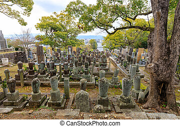 Old Japanese cemetery