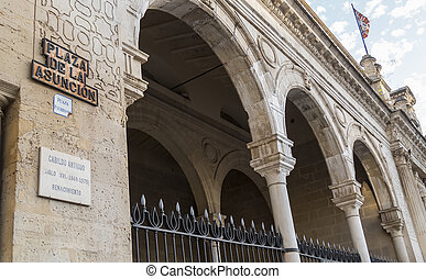 Old Jerez de la Frontera City Hall, Spain