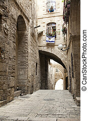 Old Jerusalem Alley