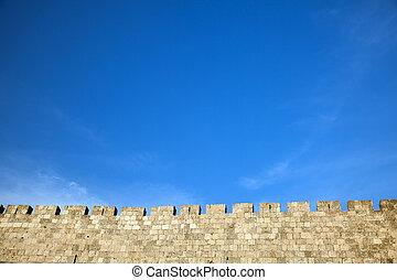 Old Jerusalem City Wall