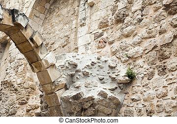 Old Jerusalem Ruins