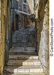 Old Jerusalem Street, Israel
