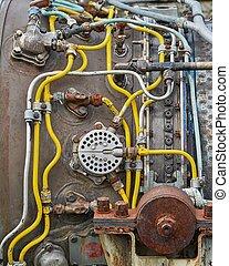 Old Jet Engine