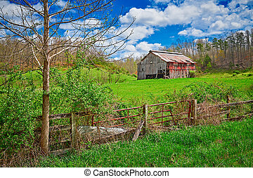Old tobacco barn Stock Photo Images. 118 Old tobacco barn ...