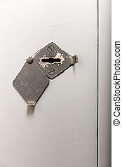 Old key hole
