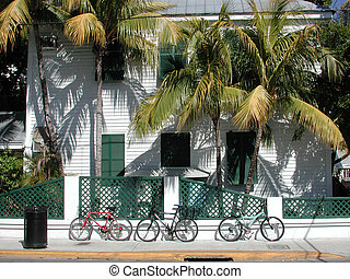 Old Key West - Taken at Historic Old Town downtown Key West...