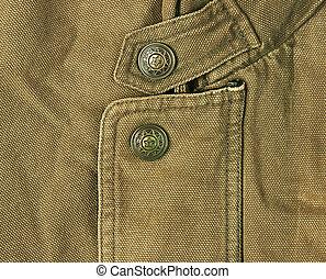 old khaki jacket