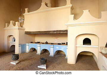 Old kitchen of a colonial house at Trinidad